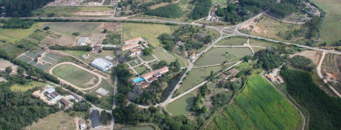 Foto do Campus UFV- Florestal